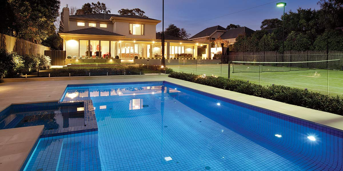 Victorian Bluestone Landscaping, Pool Coping & Edging